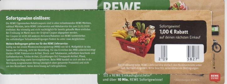 Rewe Sofortgewinn